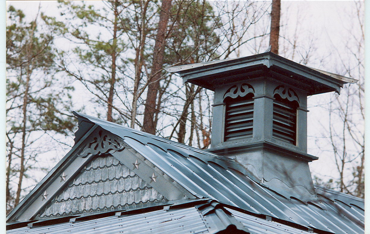 Cupola on Forest Garden Roof